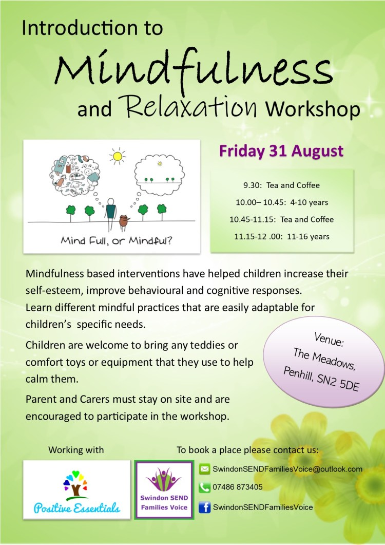 Mindfulness Flyer 31.8.18