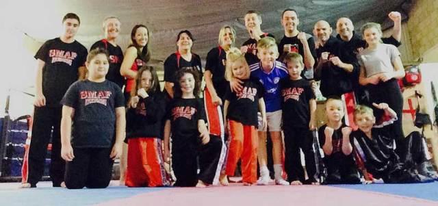 Family kickboxing classes