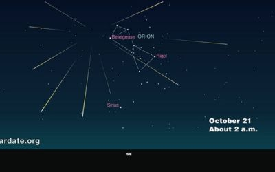 2015 Orionid Meteor Shower