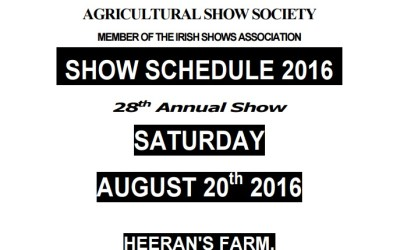 2016 Swinford Agricultural Show Photography Comeptition