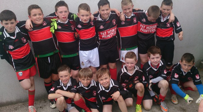 Under 10 Blitz in Knockmore Saturday 12th September