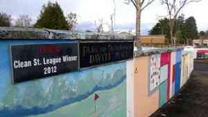 2012 Swinford clean street league winner