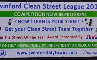 Tesco Swinford Sponsors Clean Street League