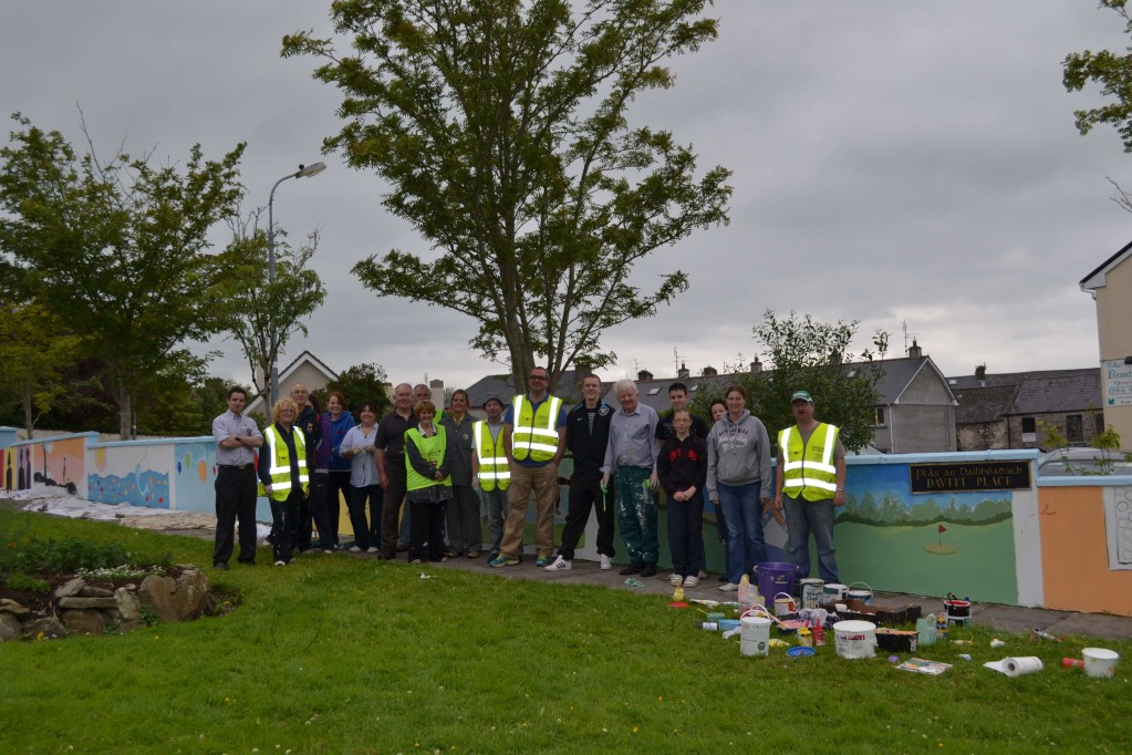 Swinford Tidy Towns committee and volunteers