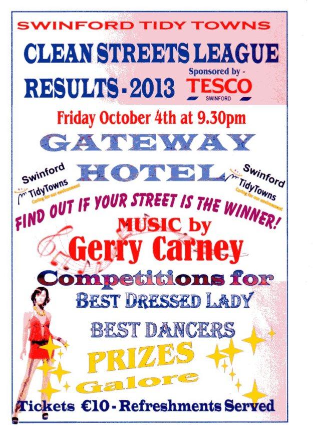 2013 Awards Night Poster