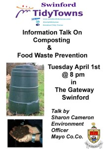 Composting Information and food waste prevention Meeting poster-2014