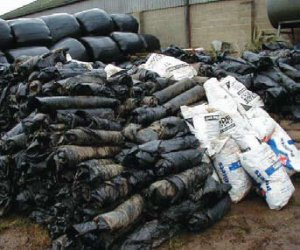 Silage wrap recycling