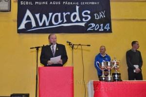 Liam O'Neill President of the GAA.