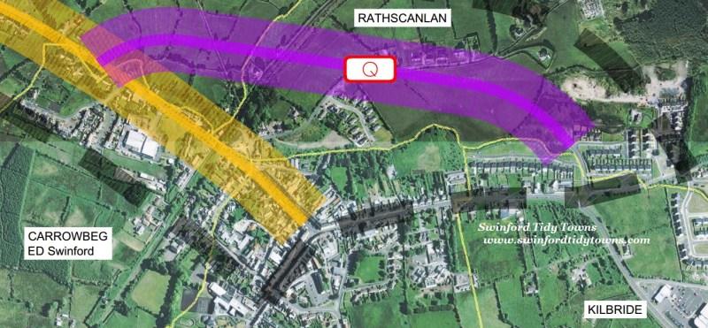 Proposed N26 Swinford Link Road