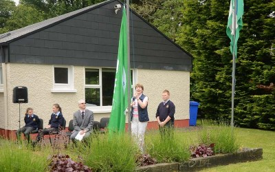 Swinford National School Awarded 5th Green Flag