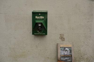 Dispenser at the Court House Davitt Place