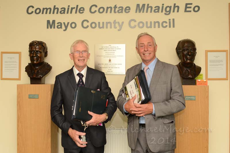 Swinford Pride of Place adjudicators 2014