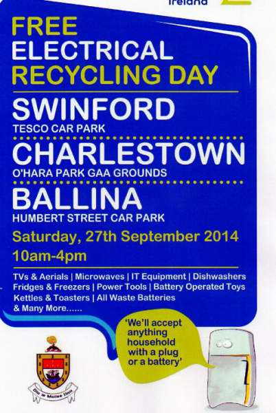 WEEE Recycling In Swinford