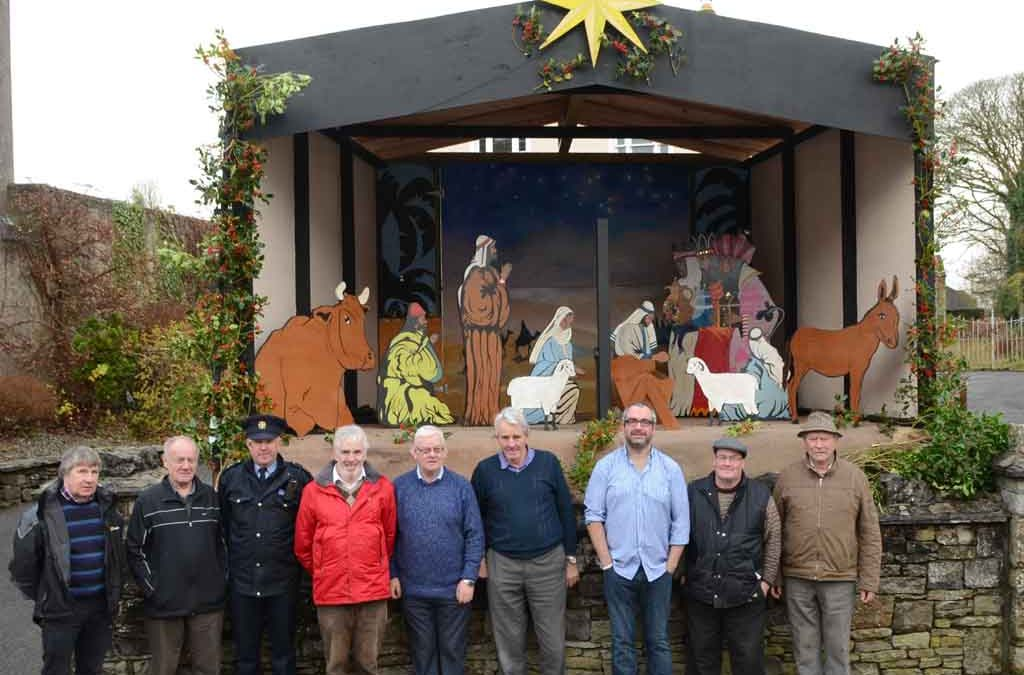 Swinford Men's Shed Build Crib