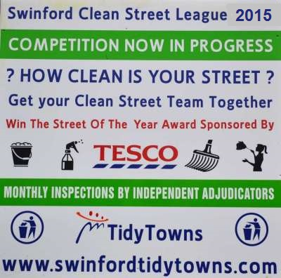 Swinford clean street league 2015