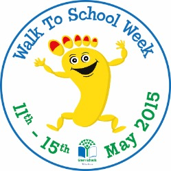 green schools walk to school week 2015