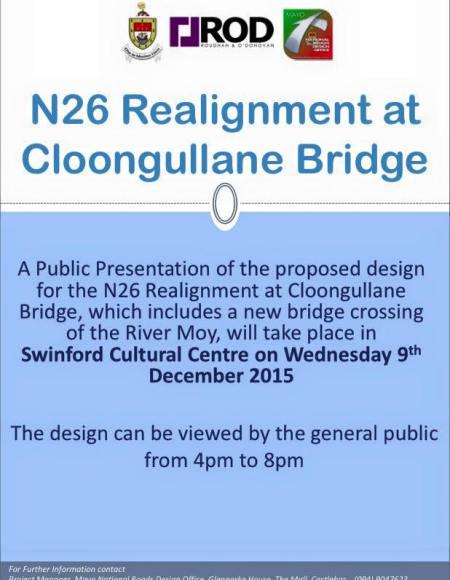 n26 realignment cloongullane bridge