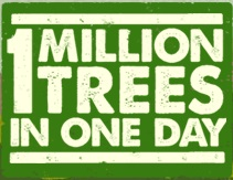 1 million trees in 1 day