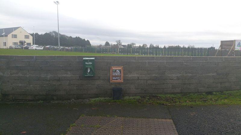 Mutt Mitts dispenser Kiltimagh road