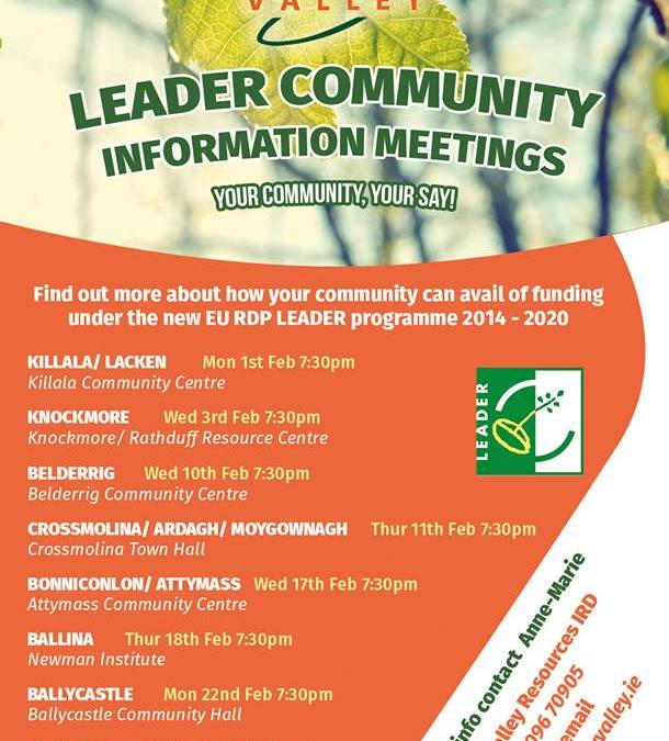 Leader Community Information Meeting