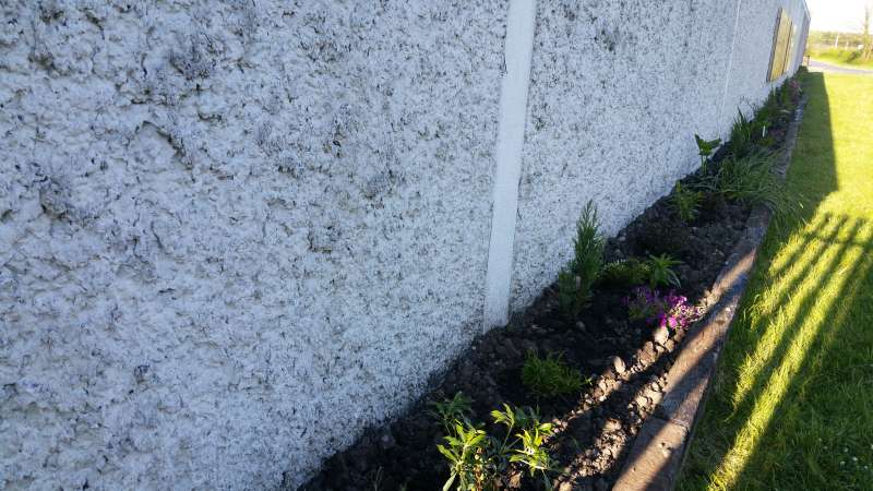 Swinford ESB wall flowerbed-20160515_190341