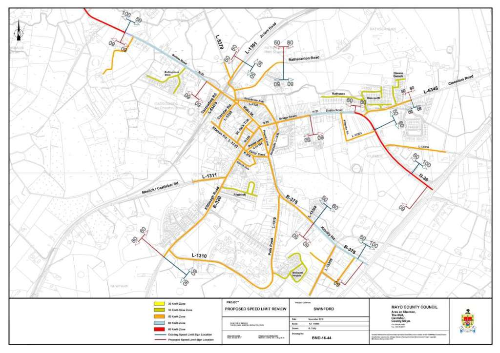 draft speed limit by laws 2017 for swinford