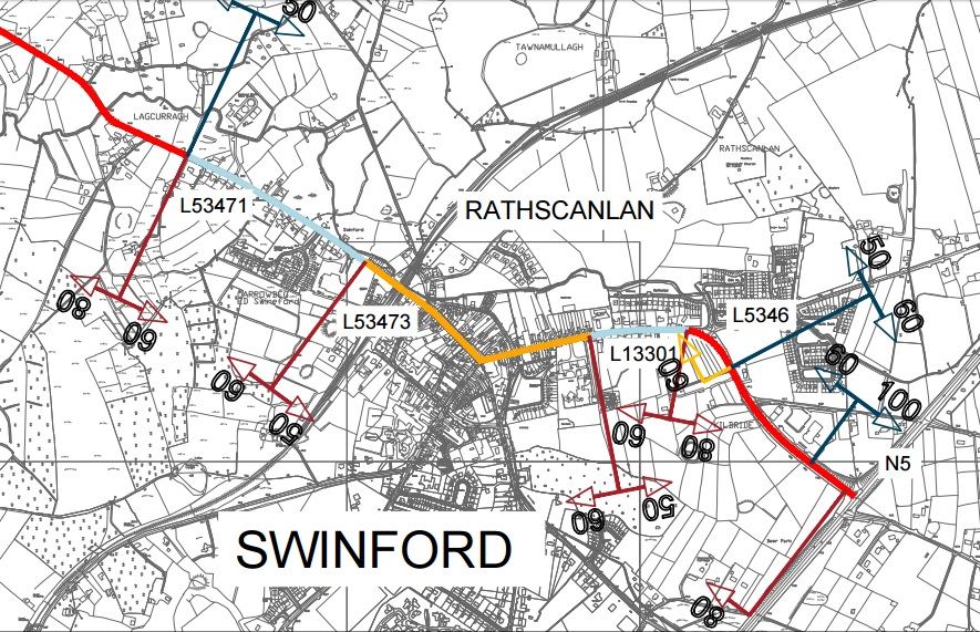 draft speed limit for swinford 2017
