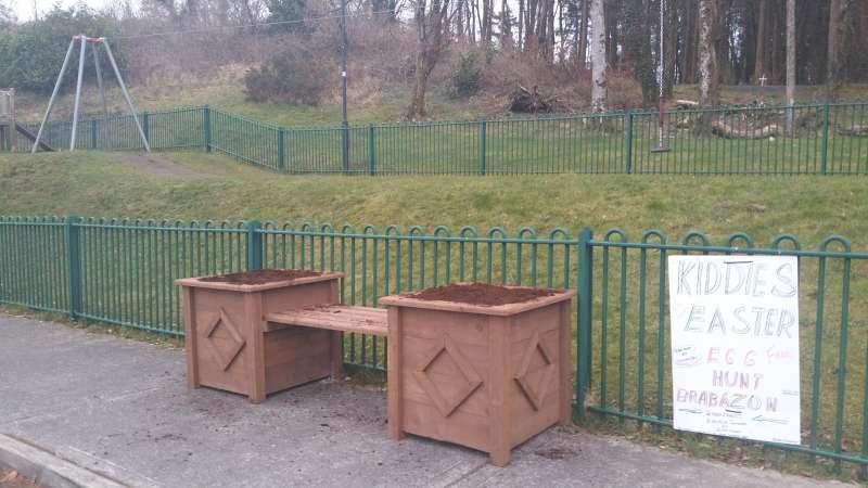 swinford playground planters