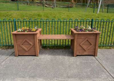 Swinford Playground Planters