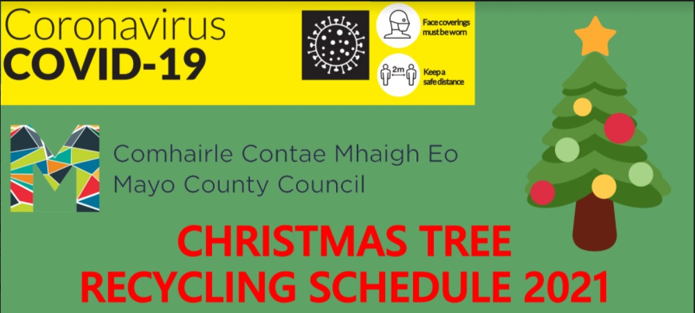 Christmas Tree Recycling 2021