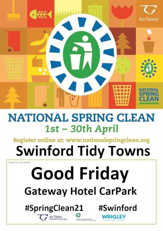 Swinford Annual Spring Clean 2021