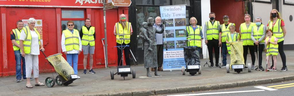 Swinford tidy towns litter cart launch