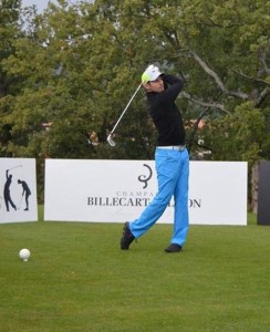 Swing de sébastien Lonchamp Moniteur de golf à l'Alpe d'Huez