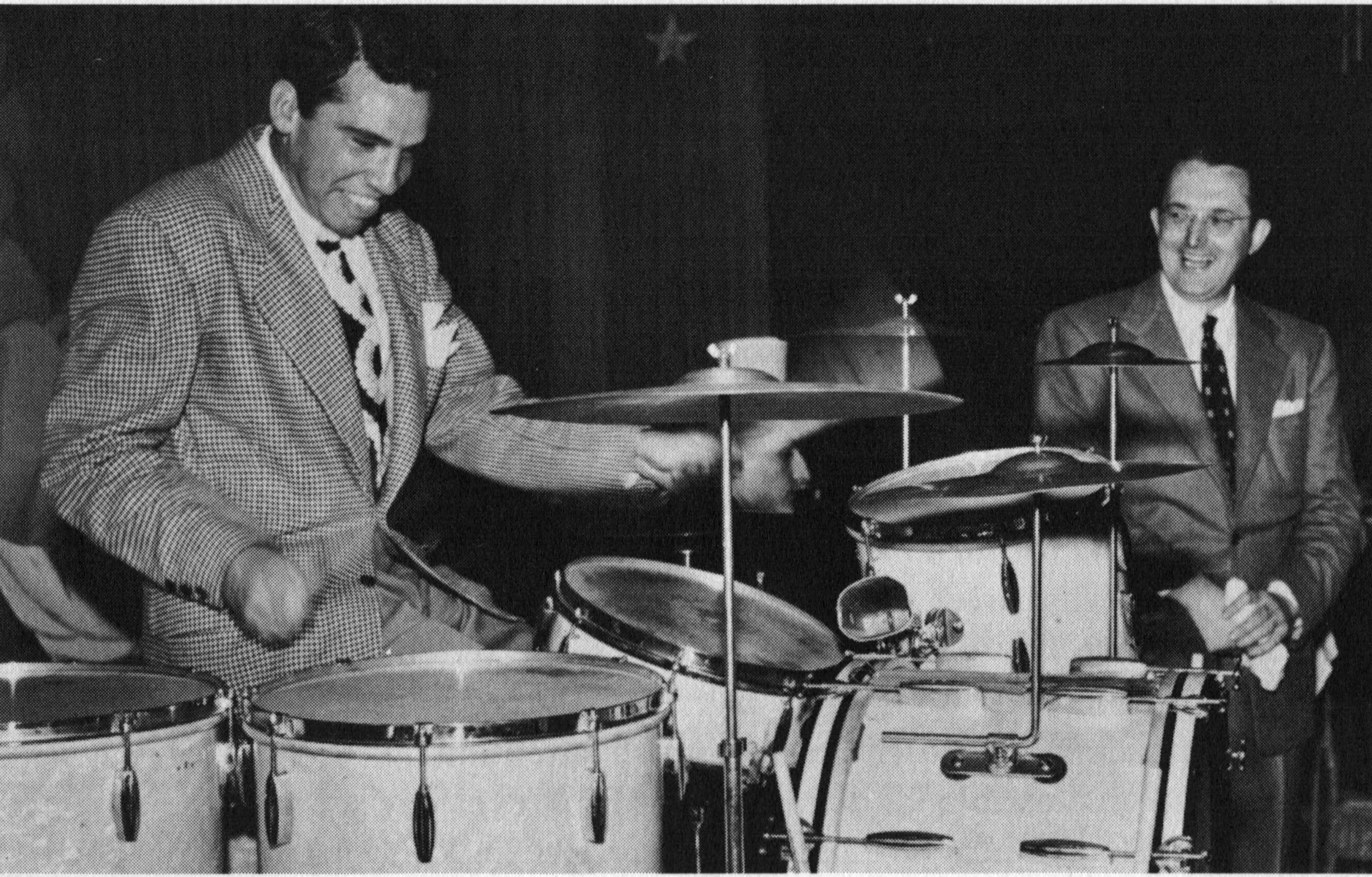 Buddy Rich and Tommy Dorsey.