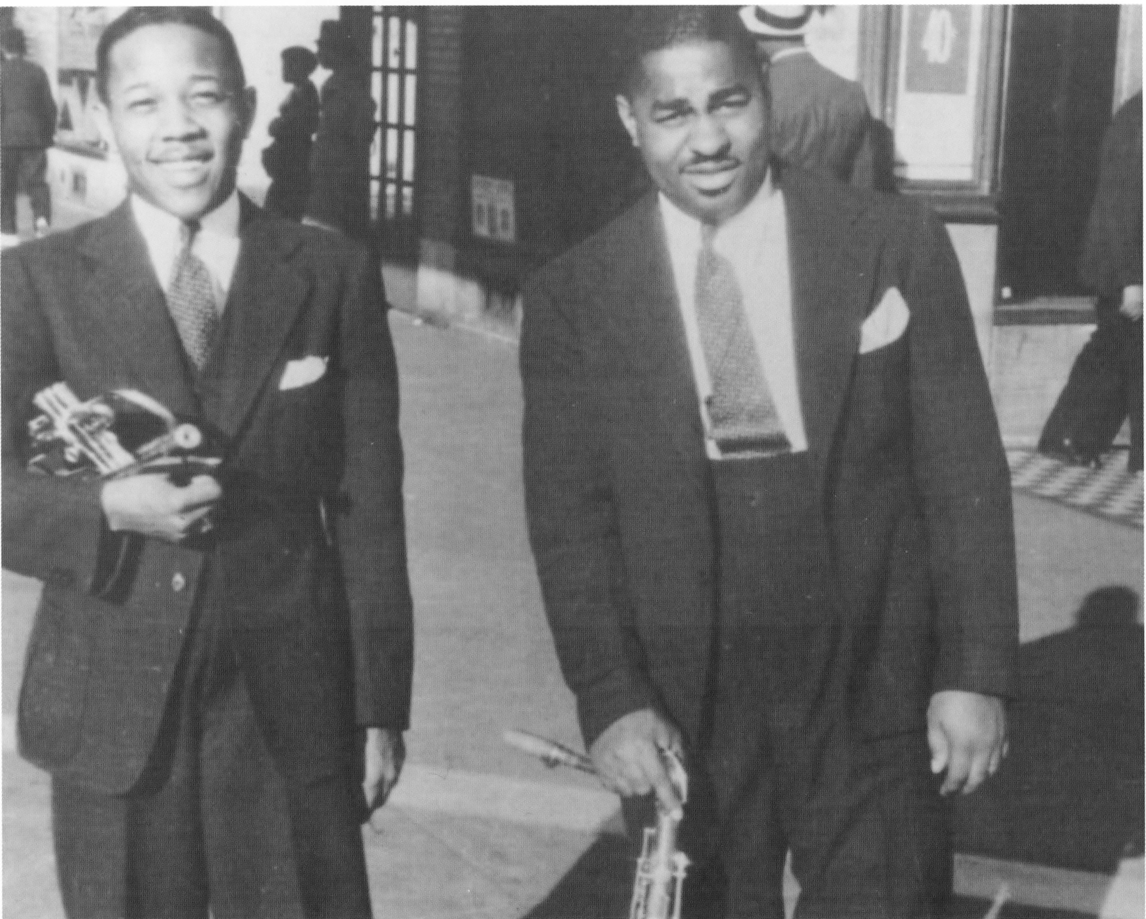 Roy Eldridge and Chu Berry - September 1935.