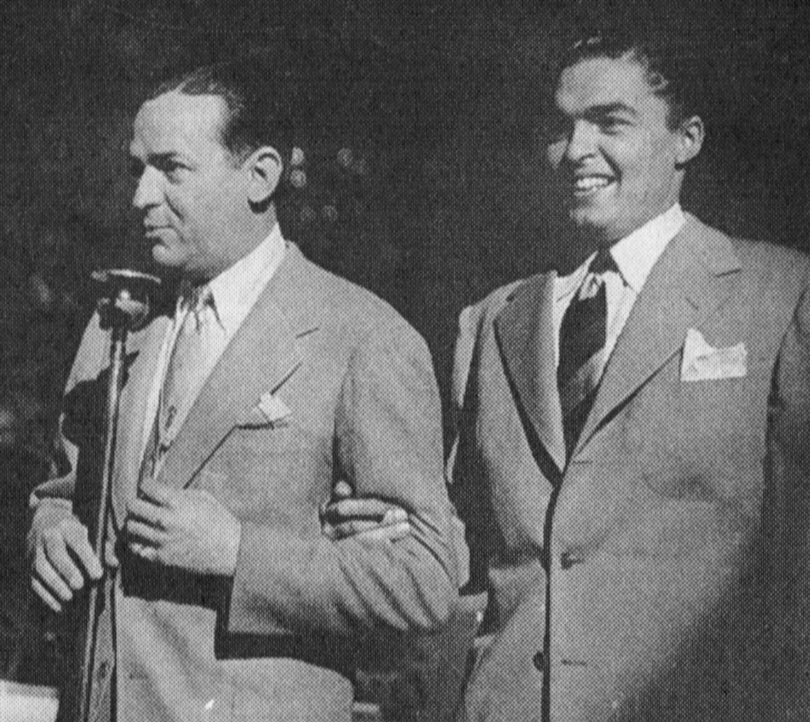 """Blue Champagne"" (1941) Jimmy Dorsey and Bob Eberly"