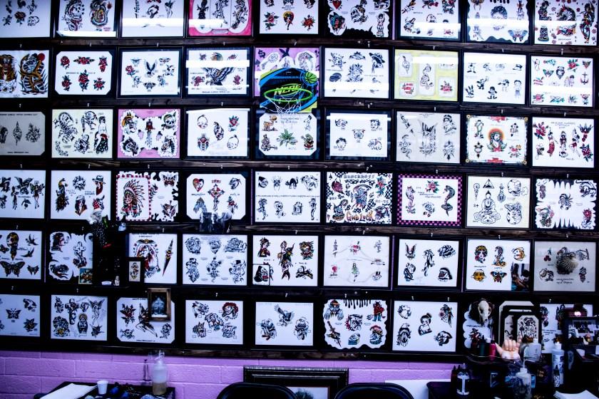 flash tattoos at arizona classic tattoo company