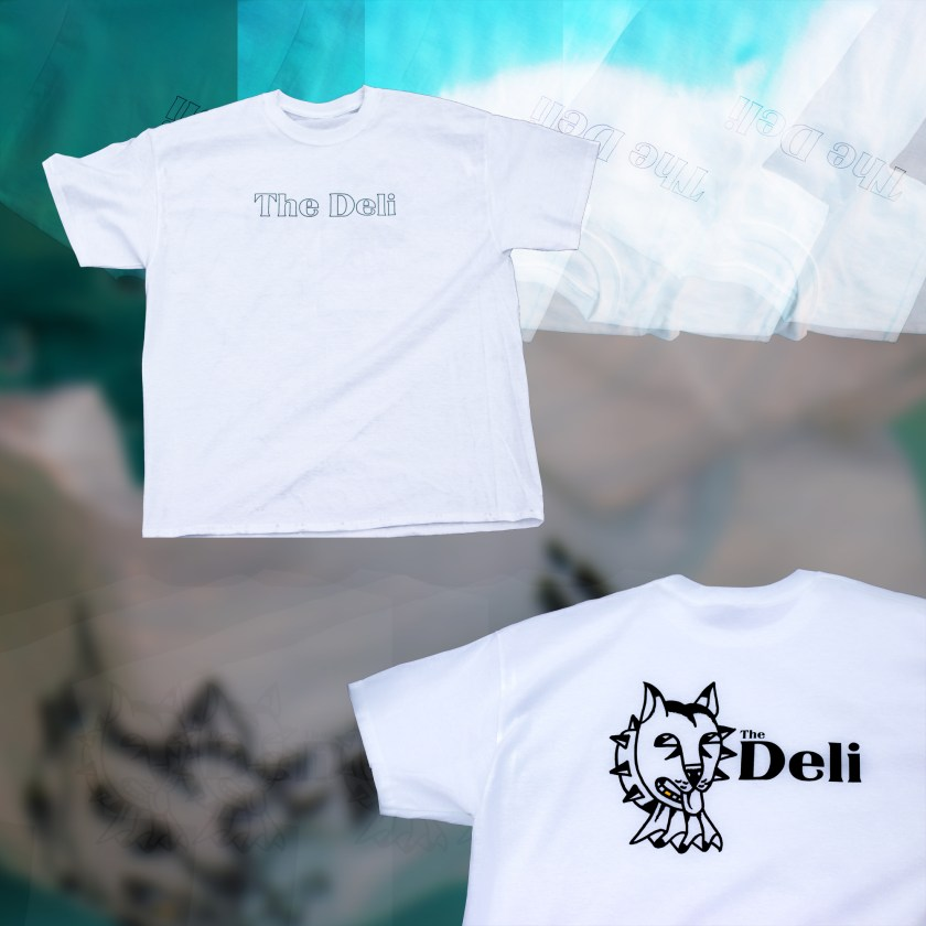 the deli dog t-shirt