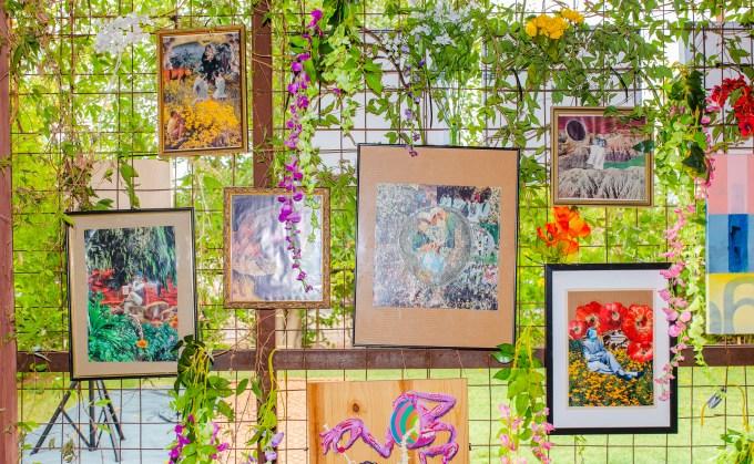Open House Festival Art by Caroline Ivy