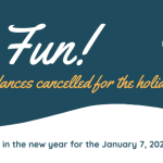 Dances Cancelled Notice