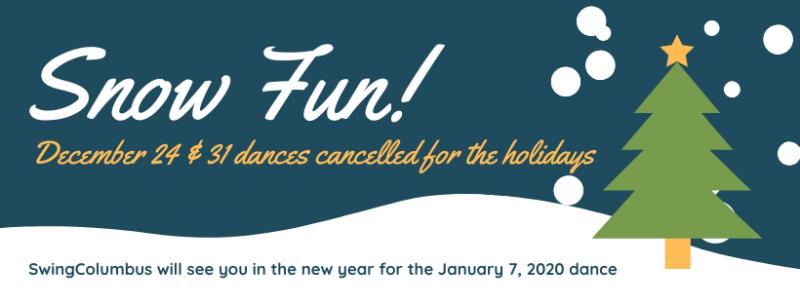 Dances Cancelled Notice