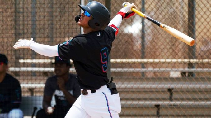 The son of the legend Victor Mesa, in 47 games shot 50 hits in 176 at-bats for an average of .284 with the wood. He hit 9 doubles, 4 triples and a home run