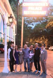 After dinner at Commander's Palace, New Orleans