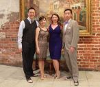 Me, Amy, Sheri, and Mike dressed up in New Orleans