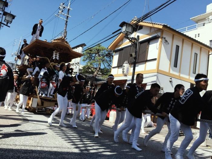 岸和田だんじり祭 別所町
