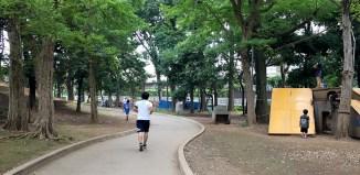 世田谷公園で腰痛ウォーキング