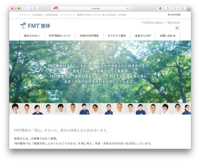 FMT整体ウェブサイト