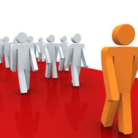 follow the leader clipart