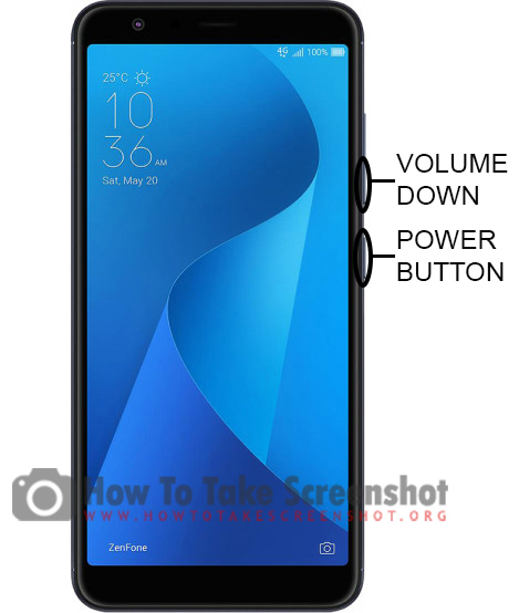 How to Take Screenshot On Asus Zenfone Live L1