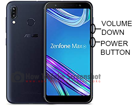 How to Take Screenshot on Asus Zenfone Max M2